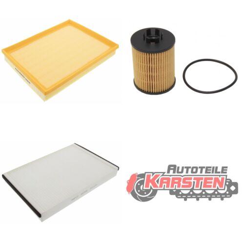 1x Luftfilter 1x Ölfilter : 1x Innenraumfilter FilterSet M