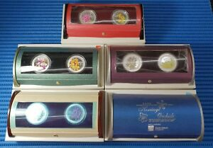 2006-2007-2008-2009-amp-2010-Orchids-of-Singapore-Silver-Proof-2-in-1-Coin-Set