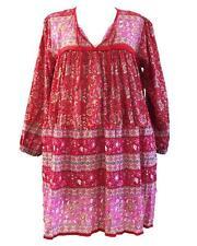 jaipur india karni cotton red maya blouse folk prints vintage royal look