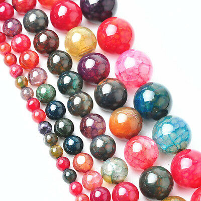Wholesale DIY Natural Gemstone Loose Beads Bright Charms 4mm 6mm 8mm 10mm 12mm