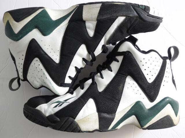 d0f77a64 V44404 Reebok Kamikaze II 2 Retro Shawn Kemp Seattle Supersonics Basketball  10.5 for sale online | eBay