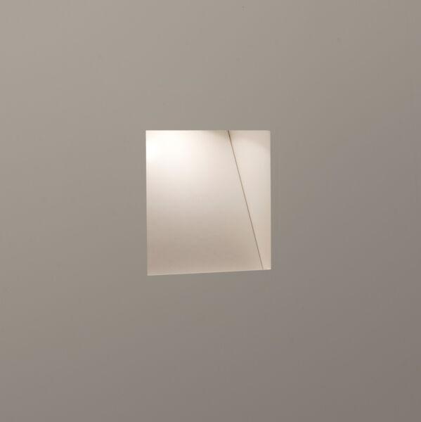 100% Vero Astro Borgo Trimless 65 0977 3w Led Ad Incasso Basso Livello Muro Luce Plastered In