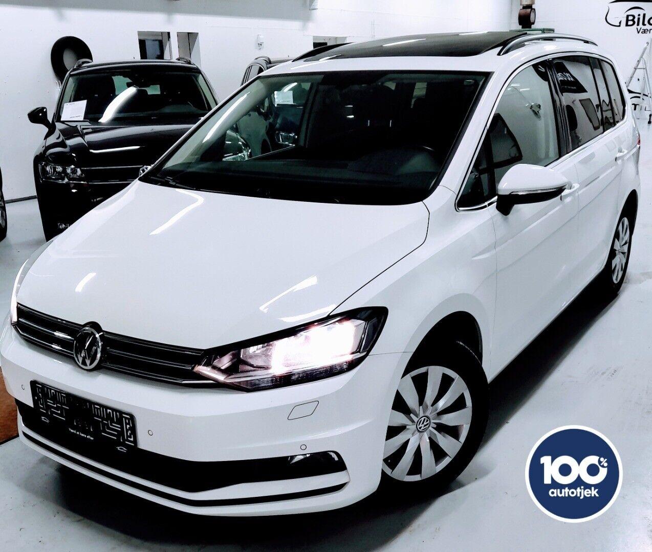VW Touran 1,6 TDi 115 Comfortline DSG 7prs 5d - 276.900 kr.
