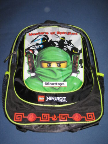 LEGO NINJAGO LLOYD ZX 16 inch Backpack Black NEW
