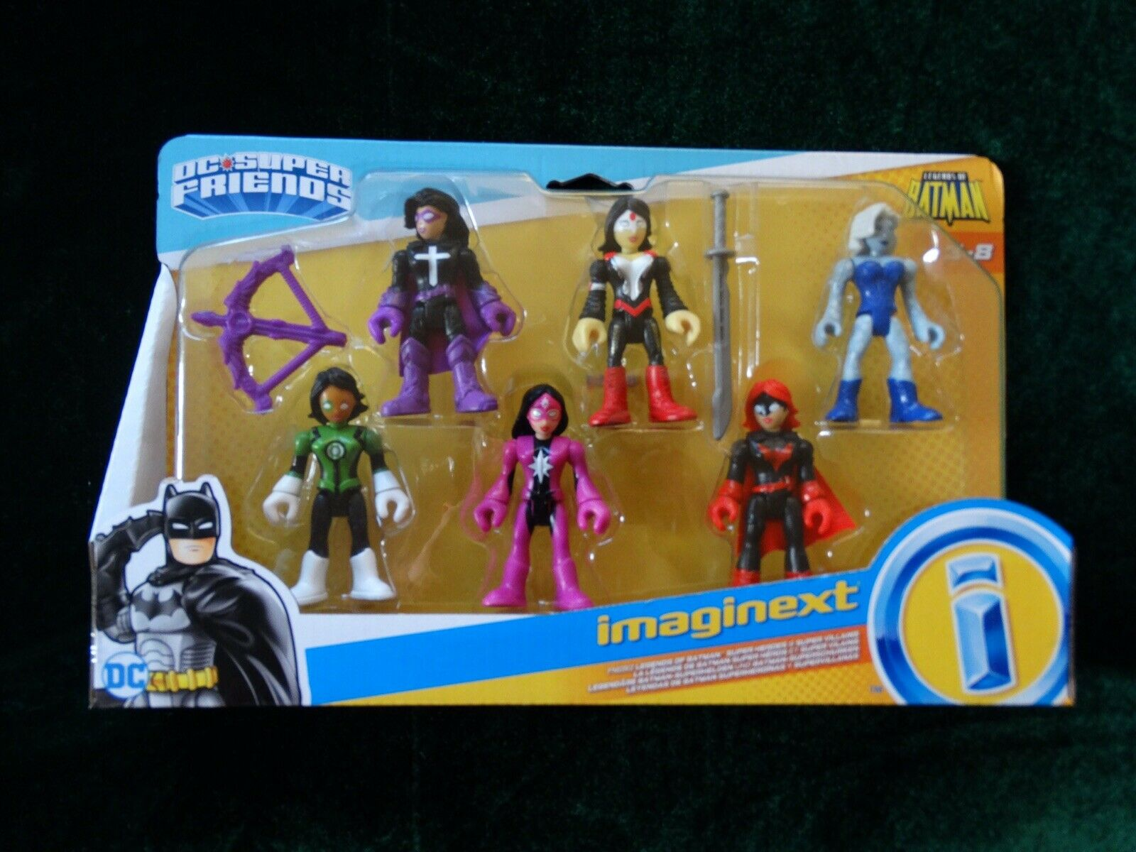 IMAGINEXT LEGENDS OF BATMAN HUNTRESS KATANA KILLER FROST STAR SAPPHIRE JESSICA