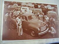 1950 's Studebaker R Series Trucks 11 X 17 Photo / Picture