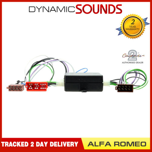 CT51-AR01 Front//Rear Amplified Bose Harness Adaptor for Alfa Romeo