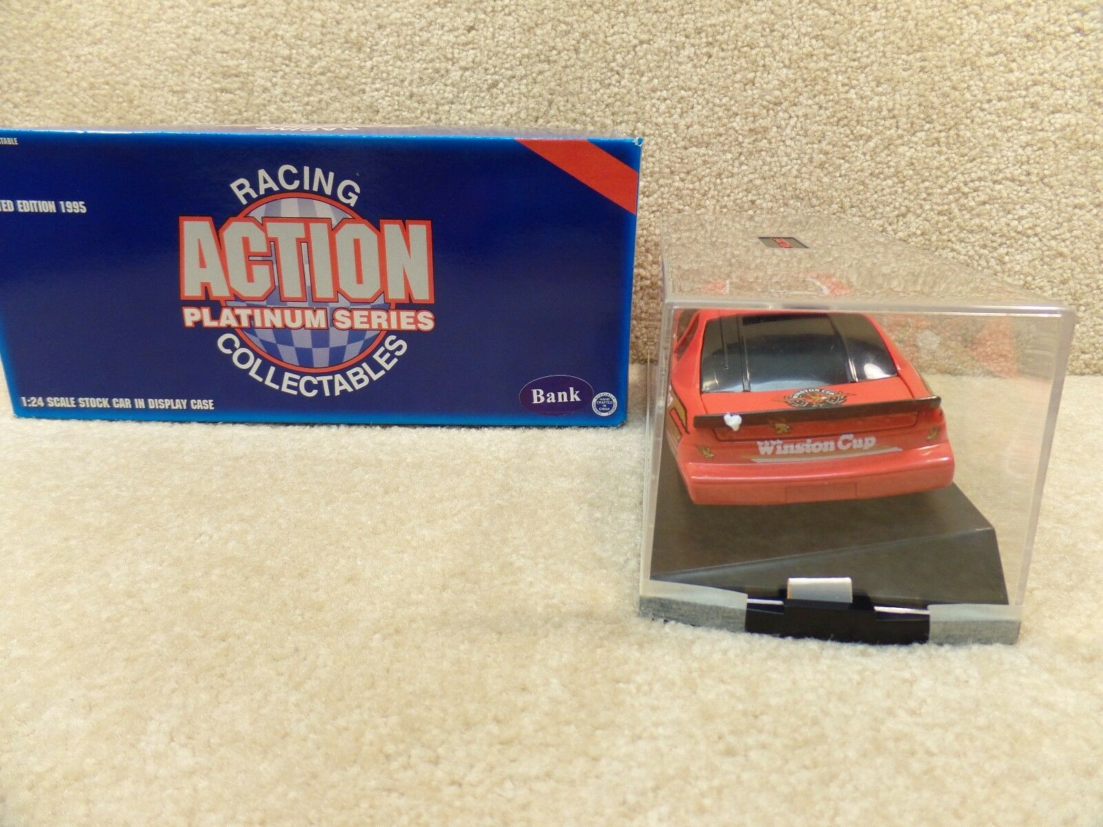 New New New 1995 Action 1 24 Diecast NASCAR Winston Cup Pace Show Car Monte Carlo Bank 77b913