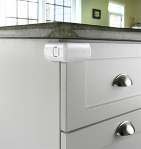 Parent Units Safe and Shut Cabinet Door /& Drawer Lock Keep Kids Out 61217