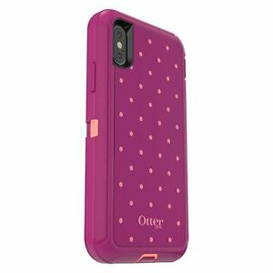 OtterBox-Defender-Series-Case-for-iPhone-X-amp-iPhone-Xs-Case-Only-Coral-DOT