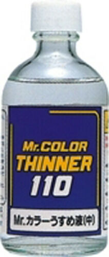 Thinners for modeling paints