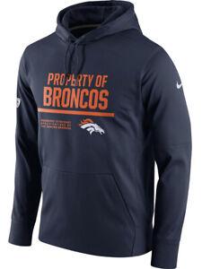 Nike-Mens-Therma-Fit-Property-of-Broncos-Denver-Hoodie-SweatShirt-Navy-Orange-N