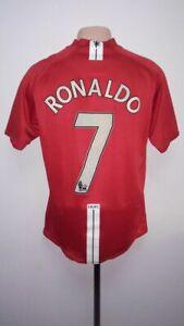 cd988effc Football shirt Manchester United Home 2007 2008 2009 Nike Cristiano ...