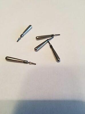 10 1//4 et 10 de 3//8 Skinny Wedge Drop Shot Poids-LIVRAISON GRATUITE