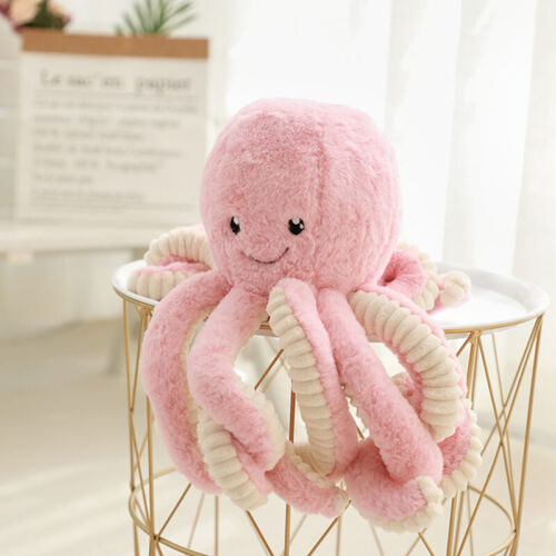 18-40cm Large Octopus Stuffed Soft Plush Doll Pillow Lovely Cute Toy Kids Gift