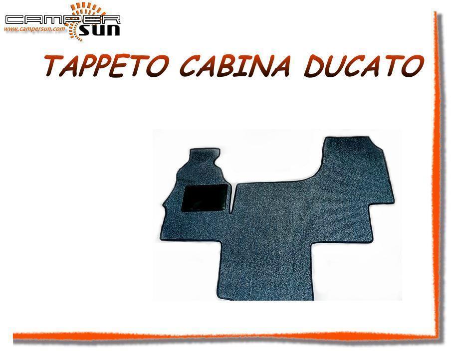 16262 Tappeto Moquette nero nterno  X Cabina Camper Furgoni Ducato 5° SERI CAS