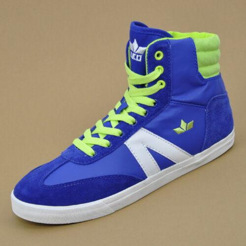 Lico Casual Kinderschuhe Sneaker Freizeitschuhe Gr 33 Blau//Lemon//Weiß 530306