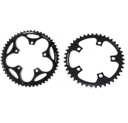 Stronglight Dural Black Shimano SRAM 130mm BCD Chainring 39 T Tooth
