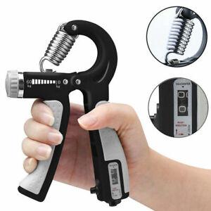 Adjustable Hand Gripper Trainer Finger Strengthener Strengthing Power Exerciser