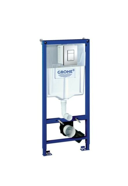 GROHE 38772 001 Rapid SL 3 in 1 Wall Hung WC Set 1.13m Concealed Frame & Cistern