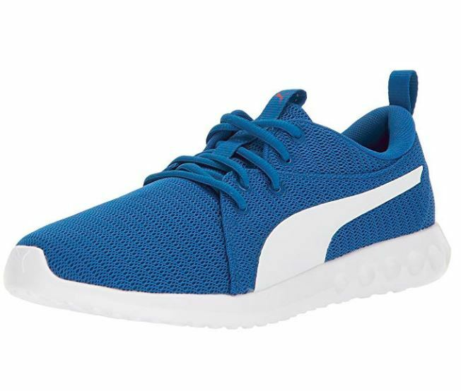 PUMA CARSON 2 LAPIS blueE-WHITE-TOREADOR 190037-01 SNEAKERS MEN SHOES B