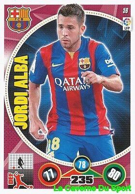 059 jordi alba espana fc. barcelona card panini adrenalyn 2015 - eBay