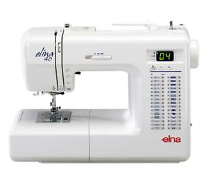 ELNA 40SP COMPUTERISED SEWING MACHINE ~ RRP $750.00 BRAND NEW