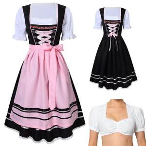 Image is loading German-Bavarian-Trachten-Oktoberfest-3-Piece-Ladies-Women- 756d1d82822