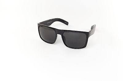 Colorful Life Wrap Fashion Men Black Black Sunglasses %100 UVA & UVB 7633