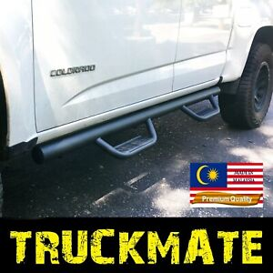 Fit 2015-2021 Canyon Colorado Crew Cab Running Boards Nerf Bars Side Step