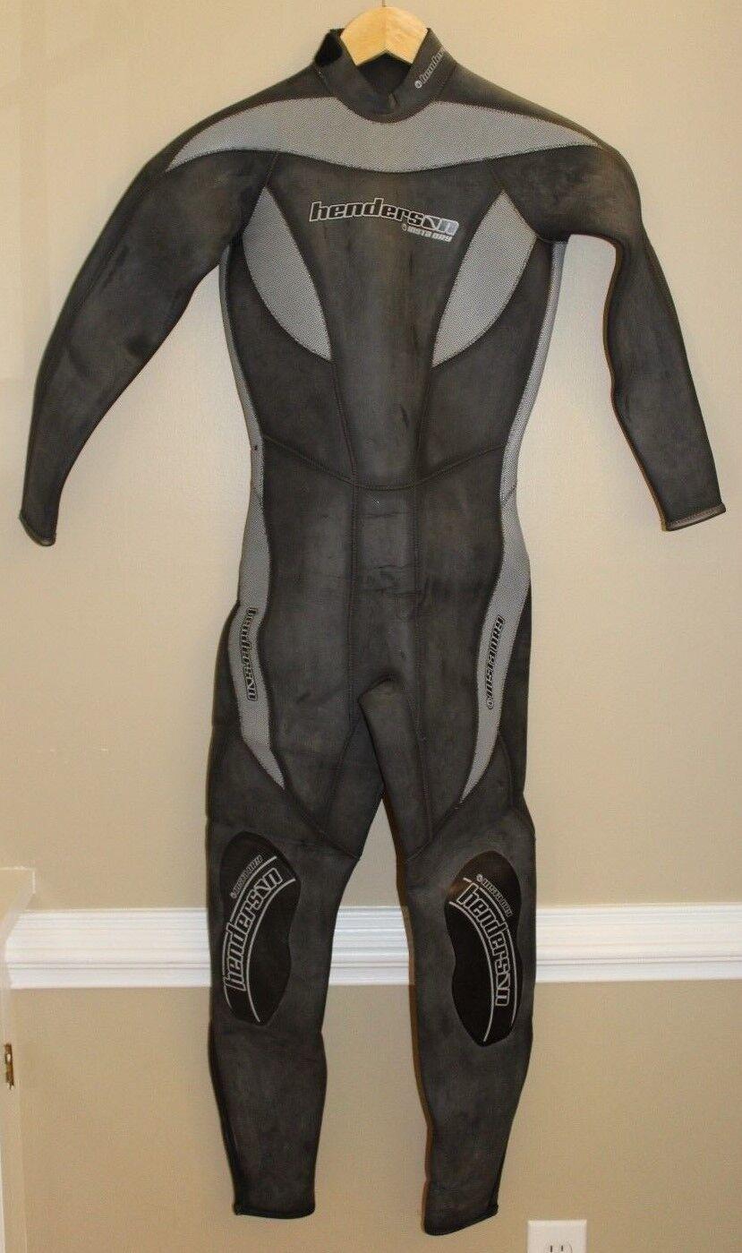Henderson Aquatics  Insta Dry 5mm Wet Suit Womens Size 4 Storage Pod DiversTowel  new listing