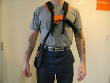 STIHL TRIMMER BRUSH CUTTER HARNESS NEW OEM # 4119 710 9001 NICE PADDED SHOULDERS