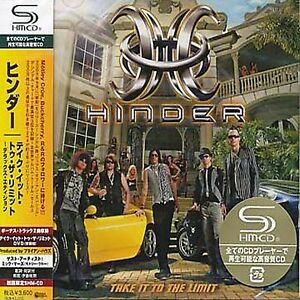 Details about HINDER - Take It To The Limit CD+DVD - Japan Jewel Case SHM -  UICU-9065