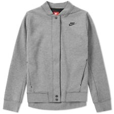 95139214656e BNWT Small Women s Nike Sportswear Tech Fleece Destroyer Grey Jacket  835544-091