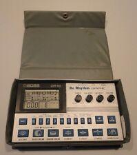 Vintage Boss DR-110 Dr.Rhythm Graphic Drum Machine With Travel Case