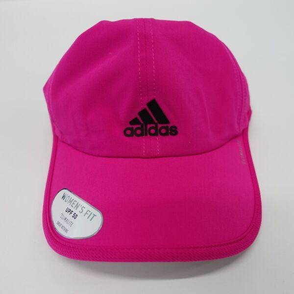 83b742e41 Womens adidas Superlite Cap Pink Climalite Real Magenta Lightweight ...