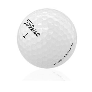 120-Titleist-Pro-V1-Near-Mint-Used-Golf-Balls-AAAA-Free-Shipping