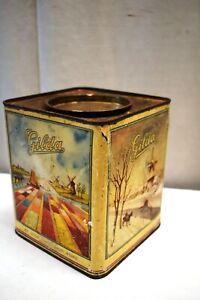 "Vintage N.V ""Gilda"" Confectionery Works Rotterdam Holland Tin Advertising Box""1"