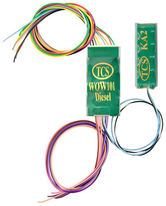 Decodificador DCC Decodificador de Sonido TCS WOW101-KA Diesel Con Escala Ho mantener viva