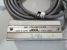 Jeol Scanning Electron Microscope Bei Preamplifier