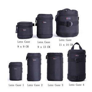 Lowepro Lens Case Bag waterproof photo pouch For Standard Zoom Lens Black