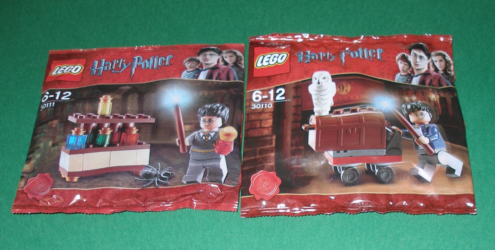 2x LEGO Harry Potter Harry Potter con pozioni e laboratorio con trolley