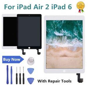 Pour-iPad-Air-2-iPad-6-Ecran-Tactile-LCD-Ecran-Tactile-Remplacement-Assemblee-RH