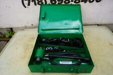 Greenlee Knock Out Hydraulic Punch And Die Set 7310 12 To 4 Nice Set 93 3