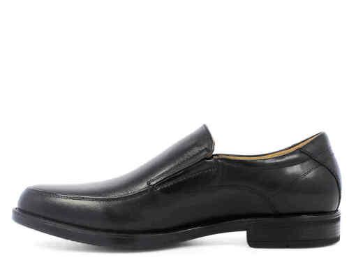 Florsheim MIDTOWN MOC SLP Mens Black 12137-001 Slip On Comfort Leather Shoes