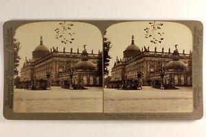 Germania-Potsdam-Residenza-Dei-Imperatori-1903-Foto-Stereo-Vintage-Albumina
