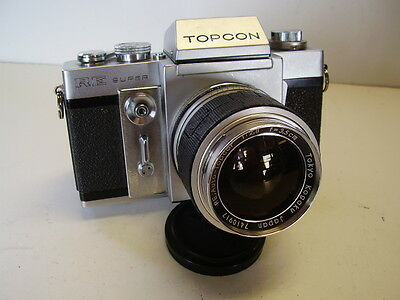 Topcon RE Super with 1:28 mm Lens meter works