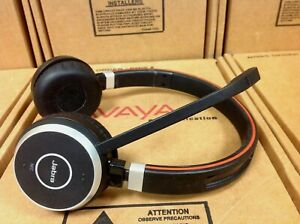 Jabra Evolve 65 Duo Uc Stereo Wireless Bluetooth Headset Ebay
