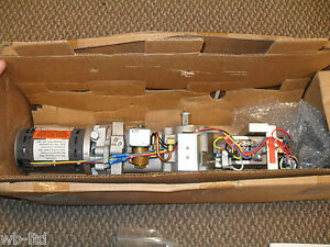 Km 2400 Electro Hydraulic Left Hand Out Swing Overhead Door