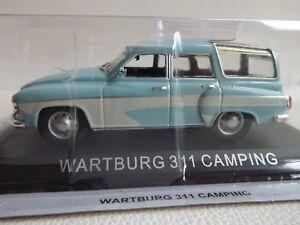 New-model-Wartburg-311-Camping-IXO-IST-1-43-Light-Blue-DDR-East-Germany